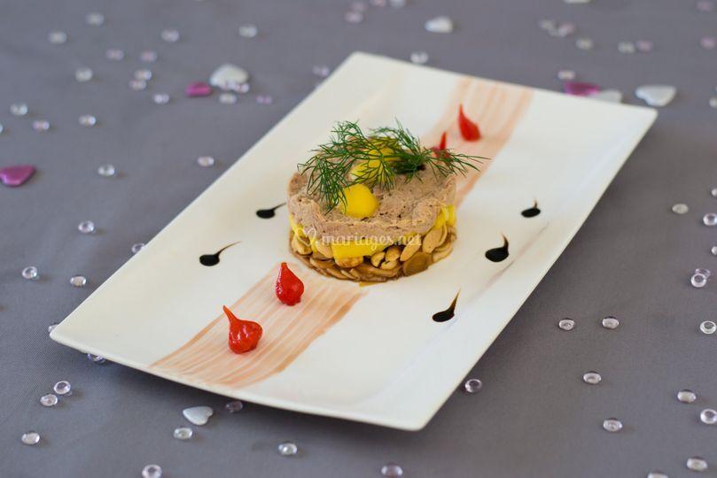 Croquant de tartare de thon