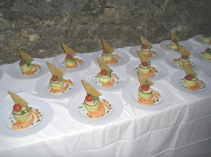 Crémeux de saumon