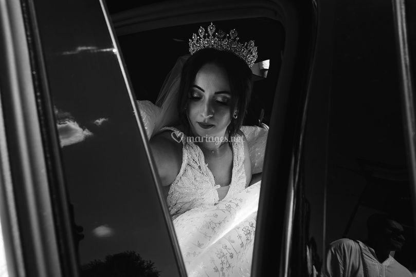 Descente de la mariée