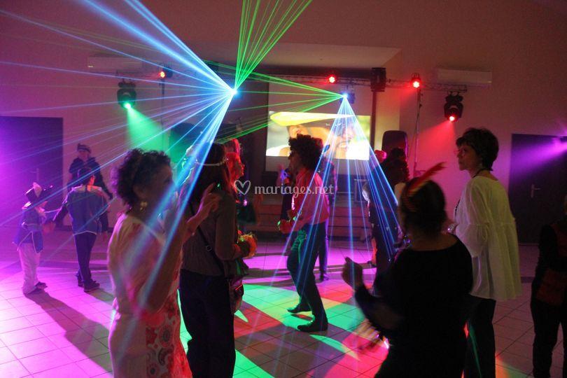 Show lumière sur Anim Pro DJ