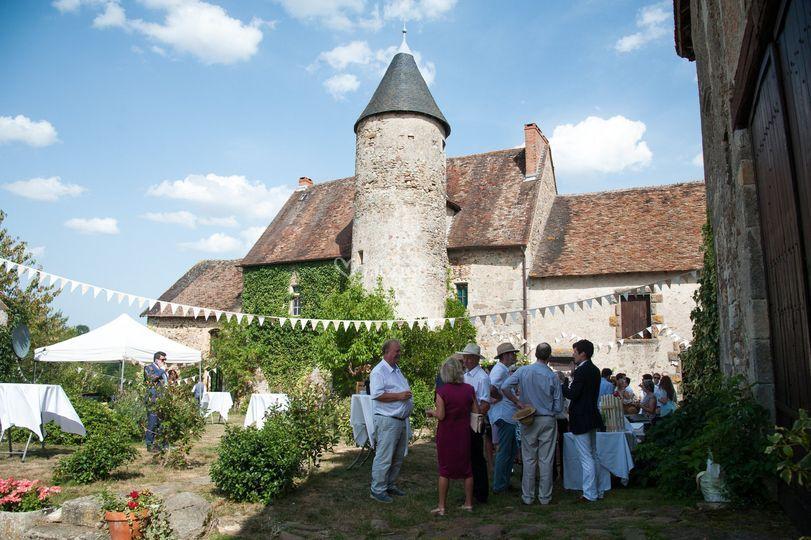 Les invités au château