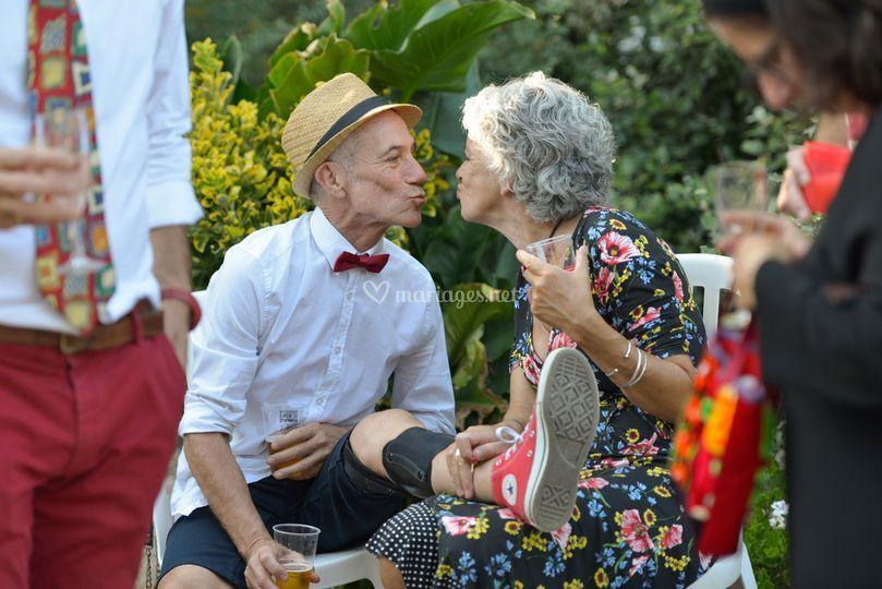 Photographe mariage, invités