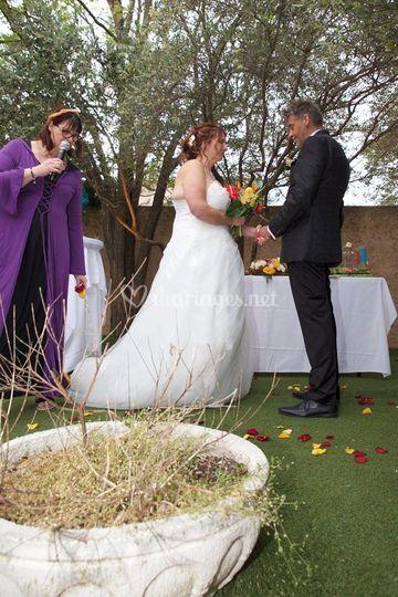 Rituel lors de la cérémonie