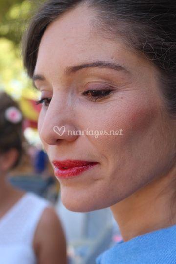 Demoiselle d'honneur make up