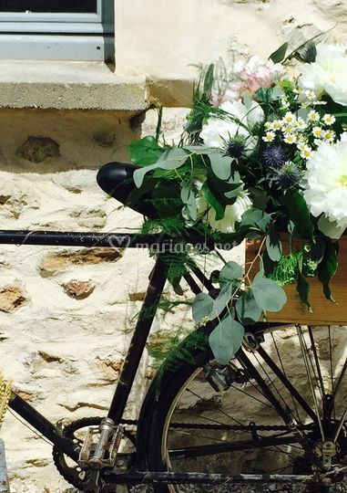 Décoration vélo Chez Fleur