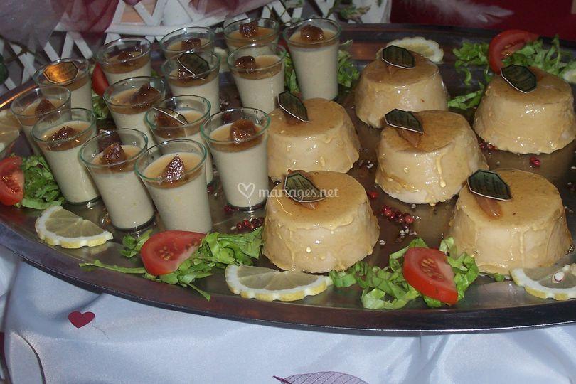 Charlotte de foie gras