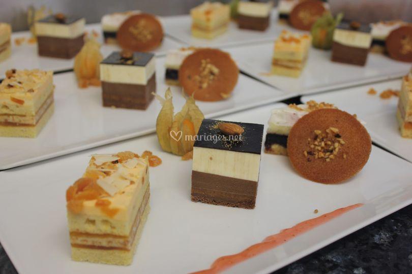 Dressage des desserts