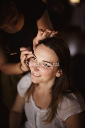 Bakstage maquillage mariée