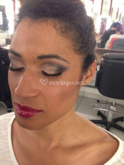 Maquillage soirée et mariage