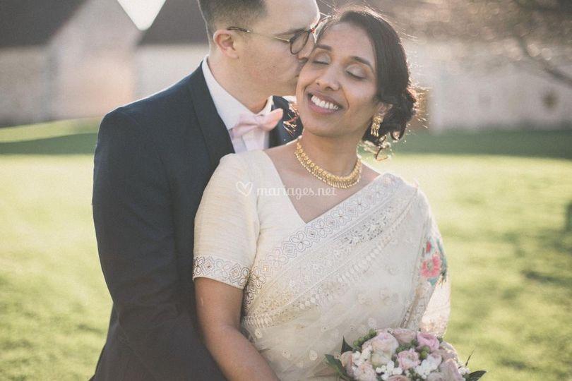 Séance couple/maquillage marié