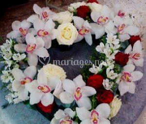 Bouquet orchidées