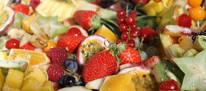 Corbeilles fruits
