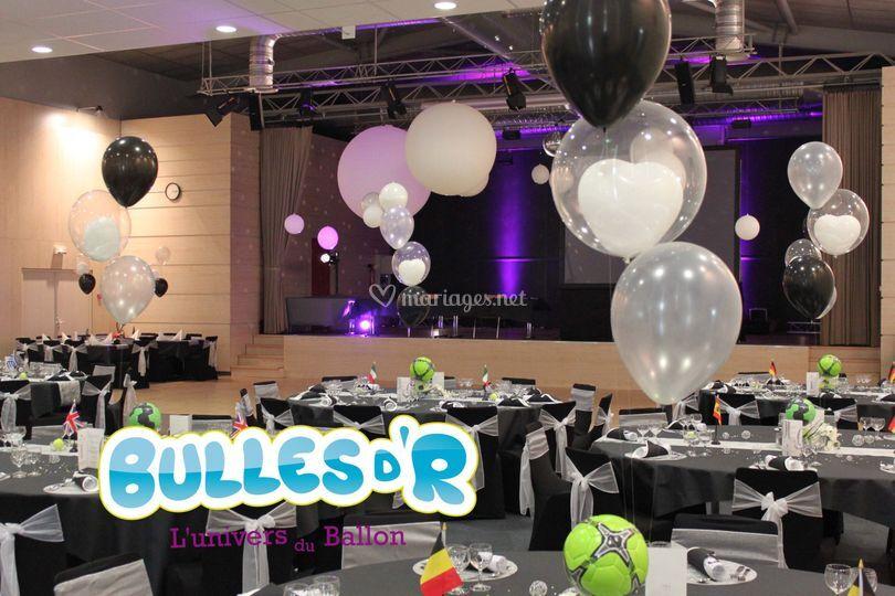 Bouquet de 3 ballon hélium