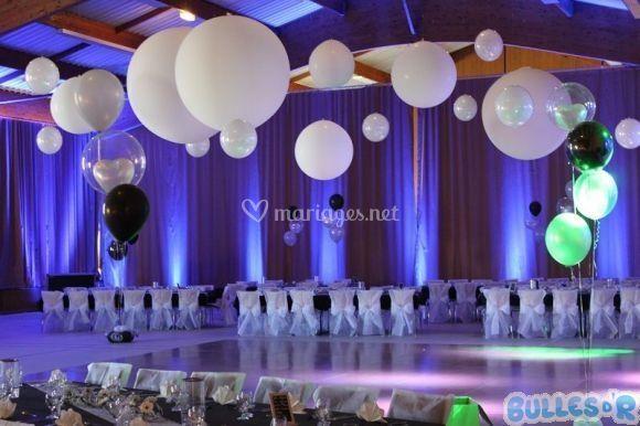 Bulles d 39 r - Decoration de ballon pour mariage ...