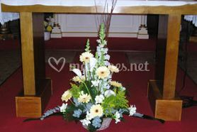Décoration d'autel