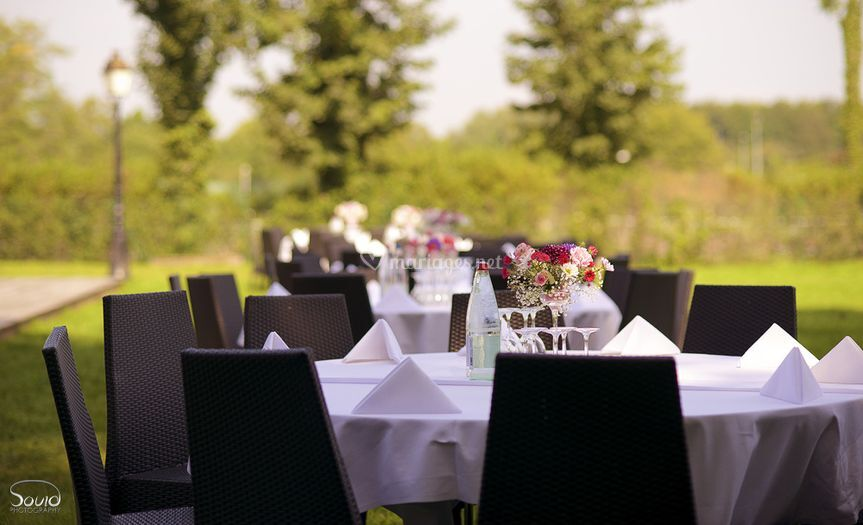 Table Mariage couleur France
