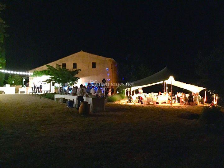 La Bastide & une tente nomade