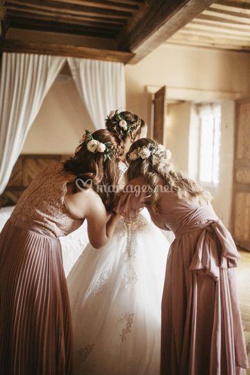 Des fleurs dans vos cheveux