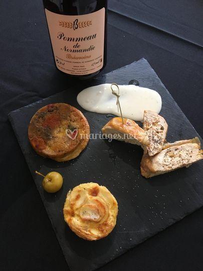 Pintadeau sauce pommeau