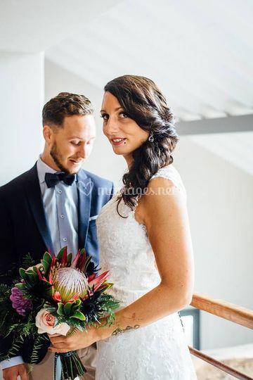 Bouquet de mariée Alice au pays des merveilles
