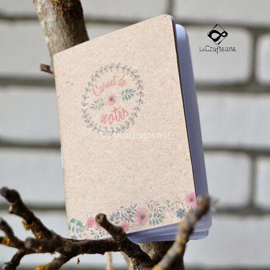 Carnet de note cadeau invite
