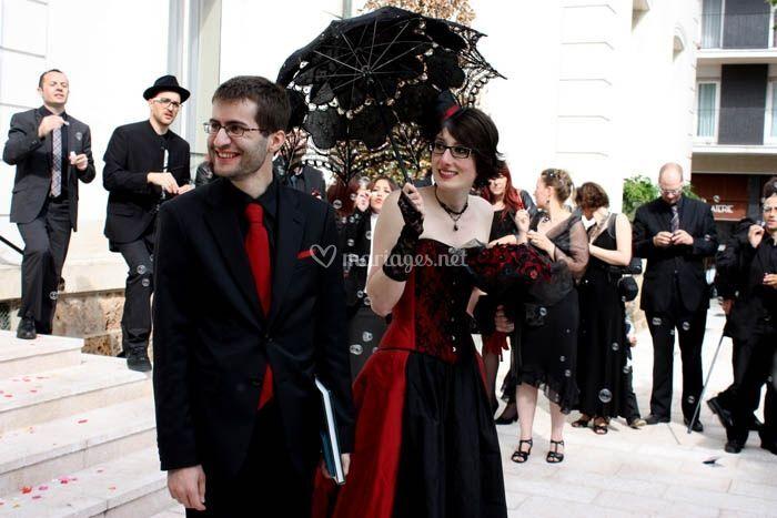 Le Mariage Gothique De Laetitia Et Fabrice