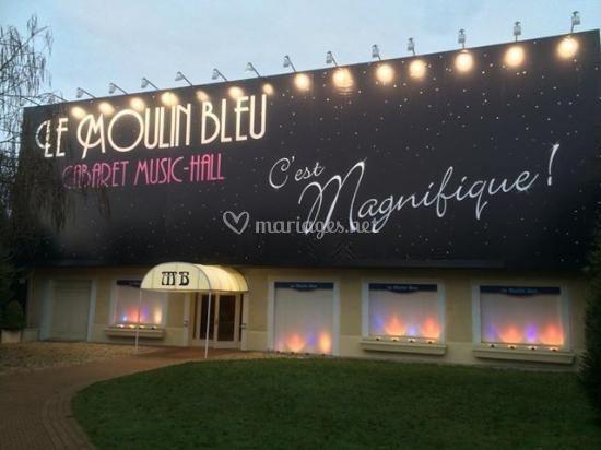 Entrée au Moulin Bleu