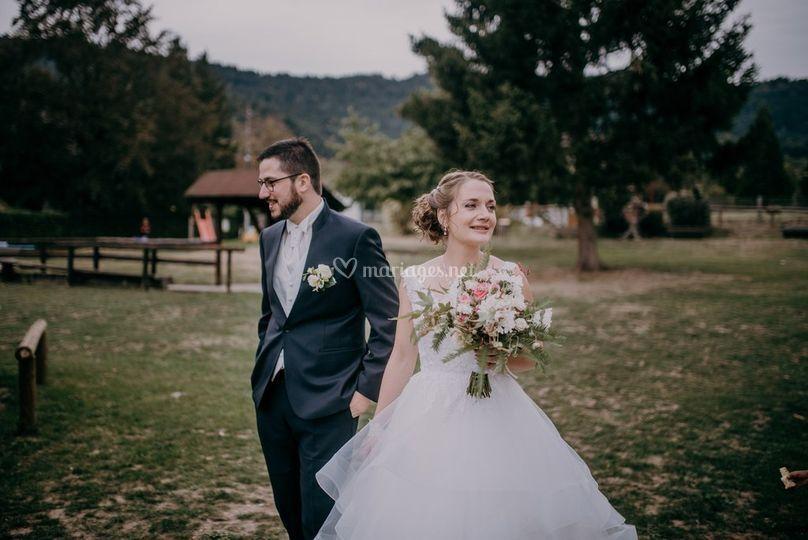 Mariage au coeur de la forêt