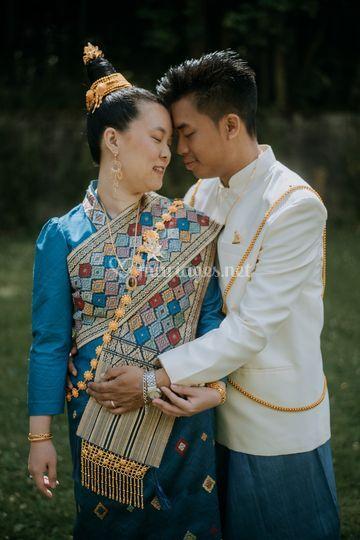 Mariage laotien