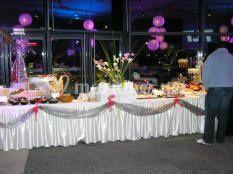 Buffet décoré