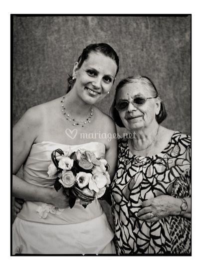 Ludivine et sa grand mère
