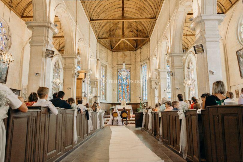 Céremonie église