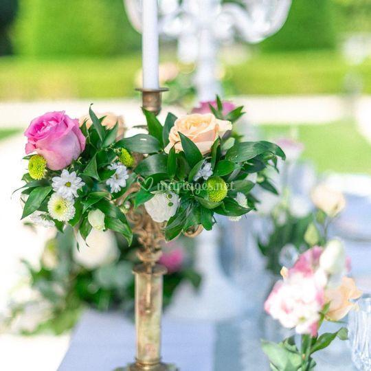 Décoration Florale Chandelier