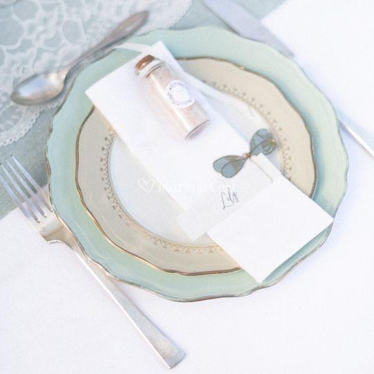 Decoration de la table de A à