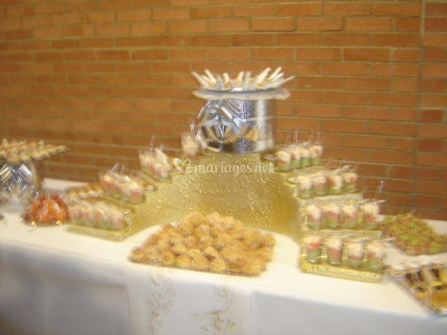 buffet cocktail mariage - Traiteur Aveyron Mariage