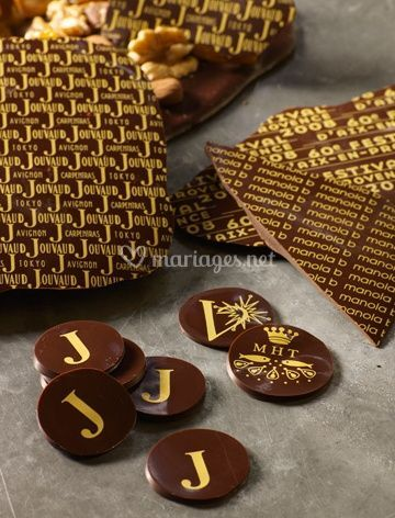 Bonbons chocolats personalises