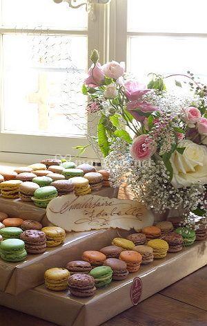 Presentation de Macarons
