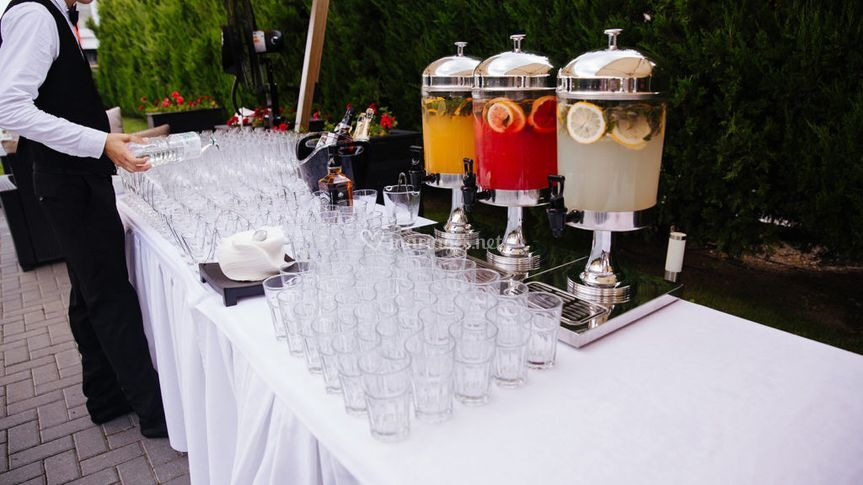 Cocktail et rafraîchissement