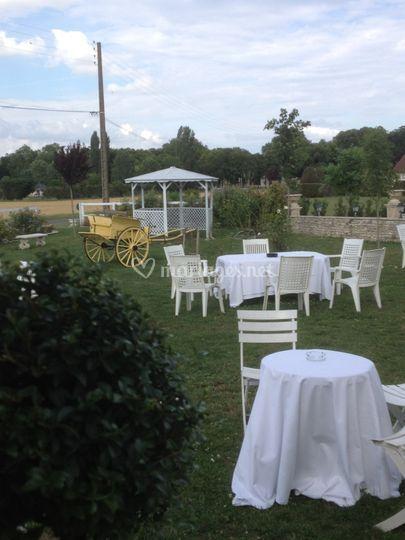 Jardin des mariés