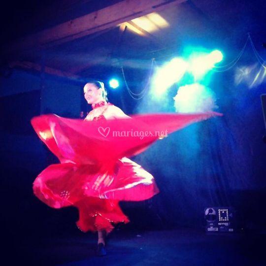 Stéphanie danse orientale