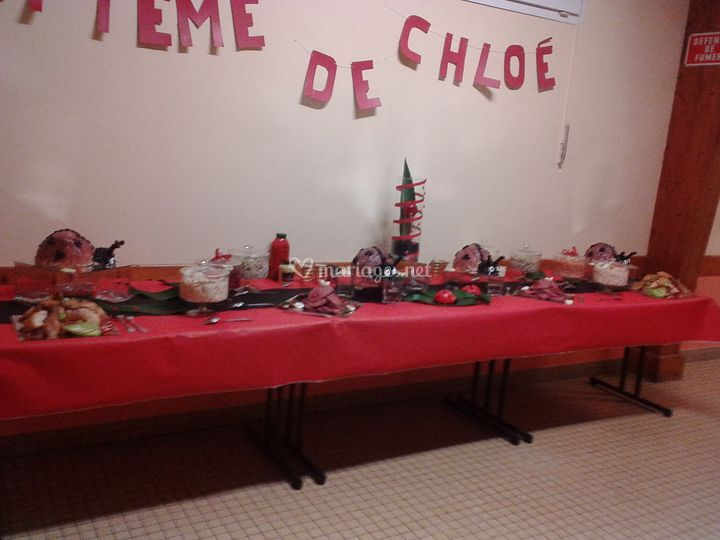 Buffet froid coccinelle