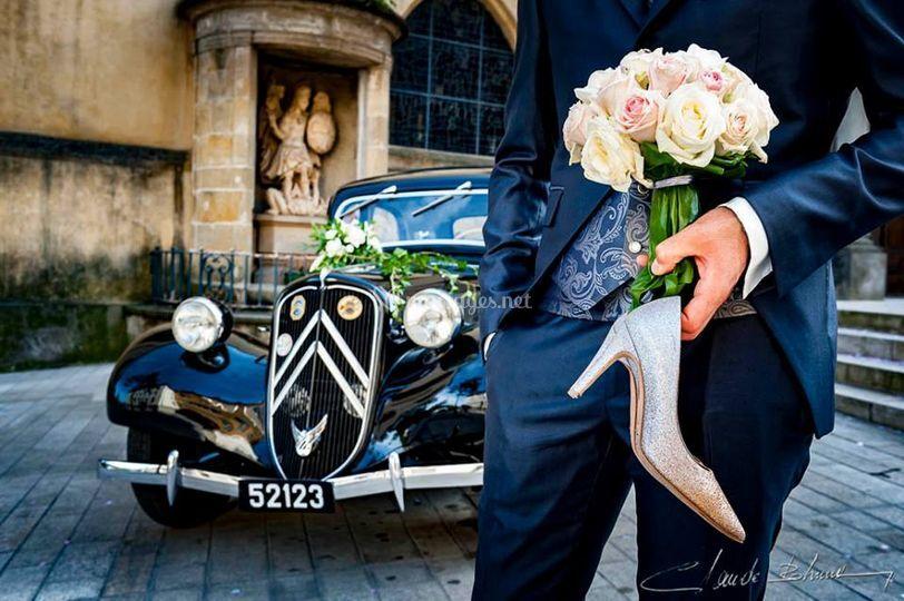En attendant la mariée...