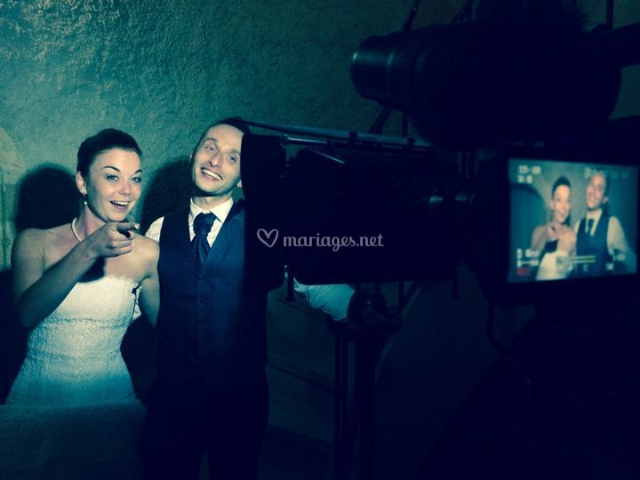 Interviews des mariés...