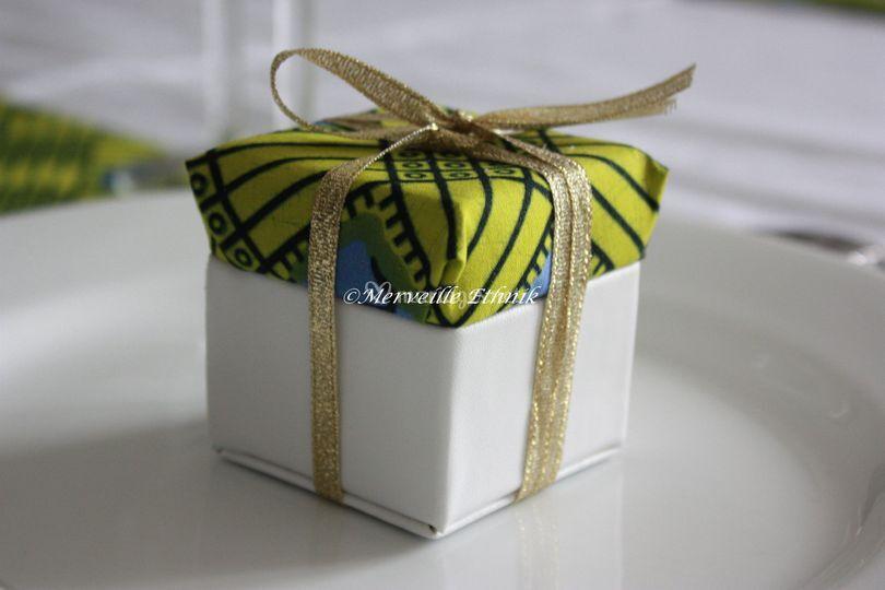 Cadeaux d'invites