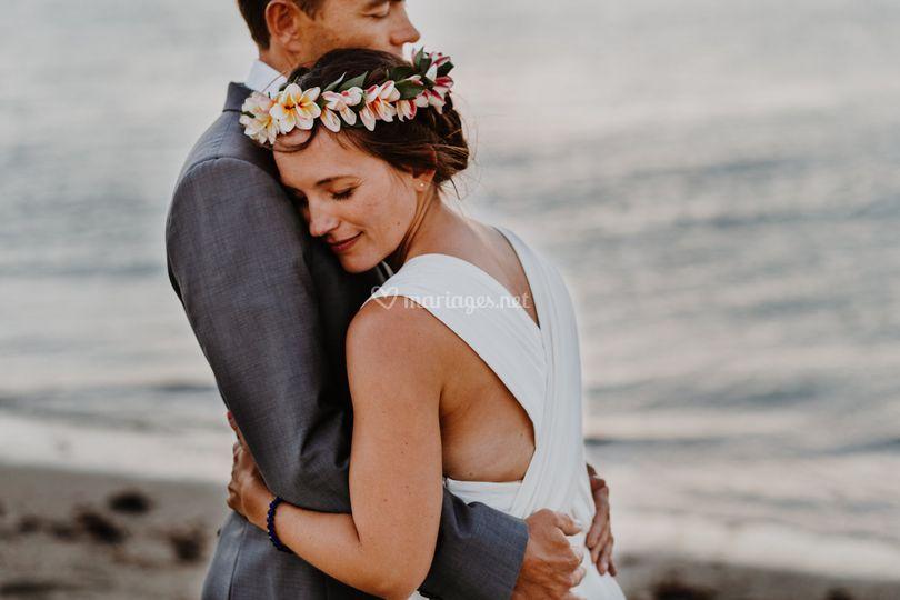 Photos de couple plage