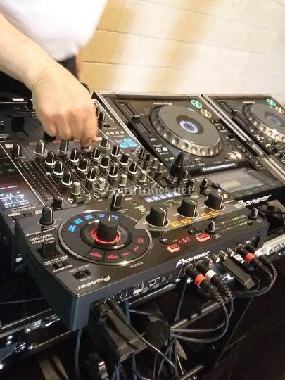 La régie DJ