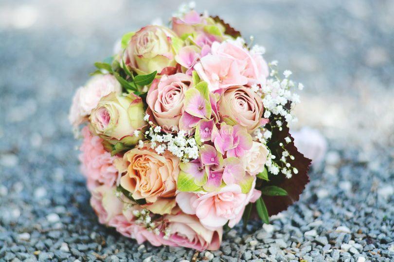 Amoureuse des fleurs