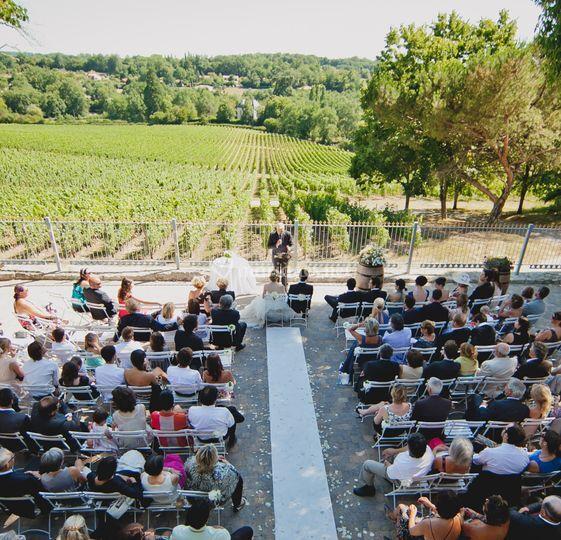 Cérémonie à Bordeaux