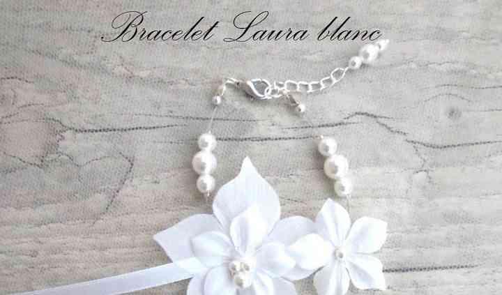 Bracelet Laura blanc