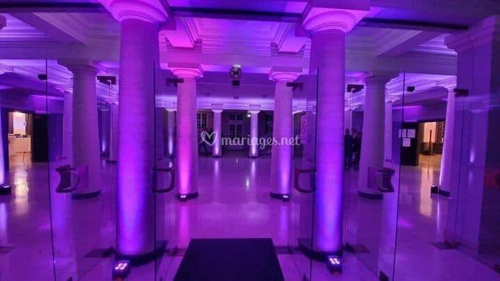 Eclairage architectural salle